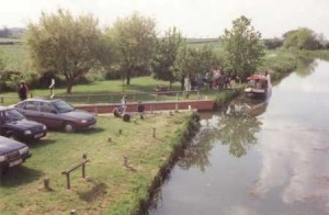 The award winning slipway at Denton