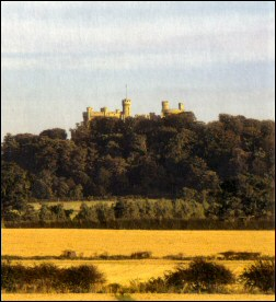 Belvoir Castle from near Redmile