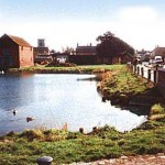 Hickling Basin before restoration
